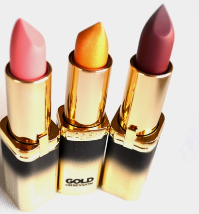LOreal Paris Color Riche Gold Obsession Lipstick
