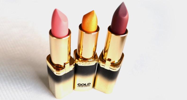 LOreal Paris Color Riche Gold Obsession Lipstick