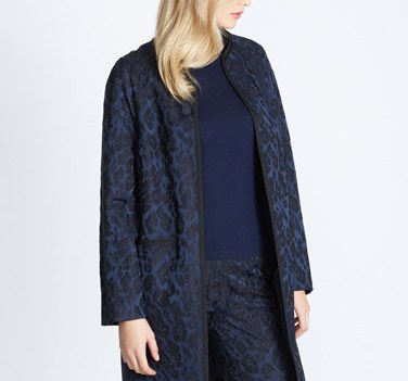 Gallery Luxury Jacquard Jacket