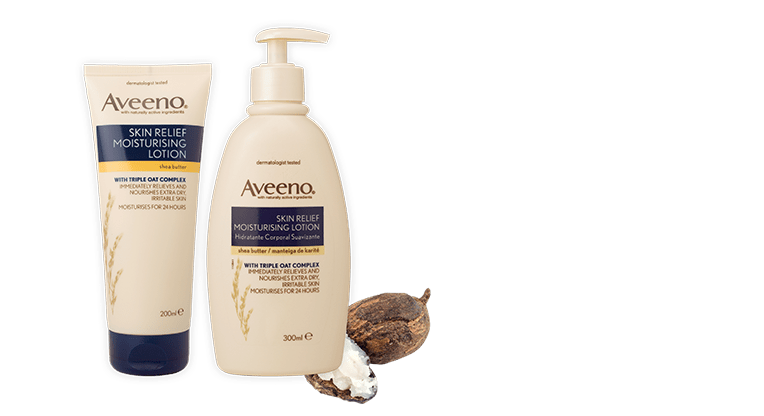 Aveeno Skin Relief Moisturising Lotion with Shea Butter - €4.50