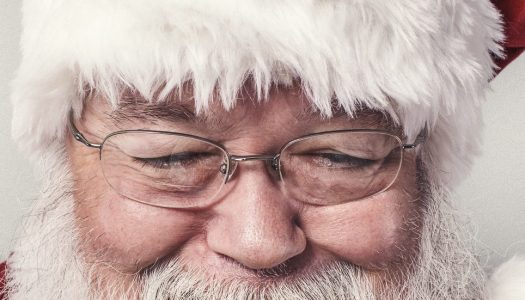 Keep calm and visit Silent Sensory Santa