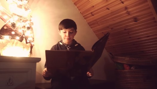 Local actor recites chilling poem to make you rethink that drink