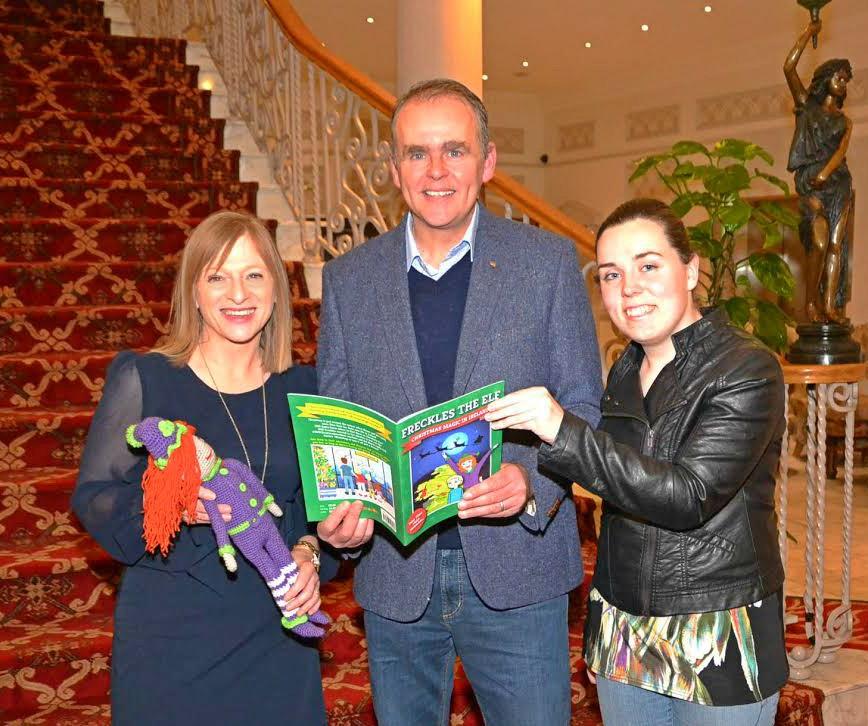 Evelyn McGlynn, Minister Joe McHugh and Jenny Yourell
