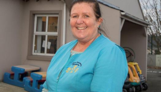 Sally retires after 33 years of leading Raphoe Playgroup