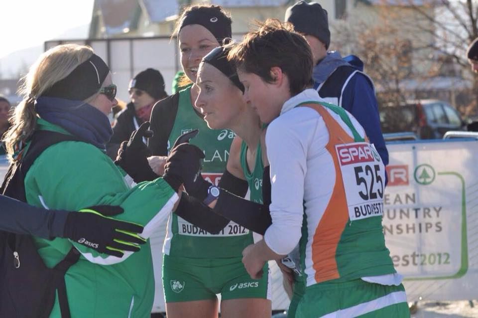 Teresa coached the Irish team at the European Cross Country Championships in Budapest in 2012