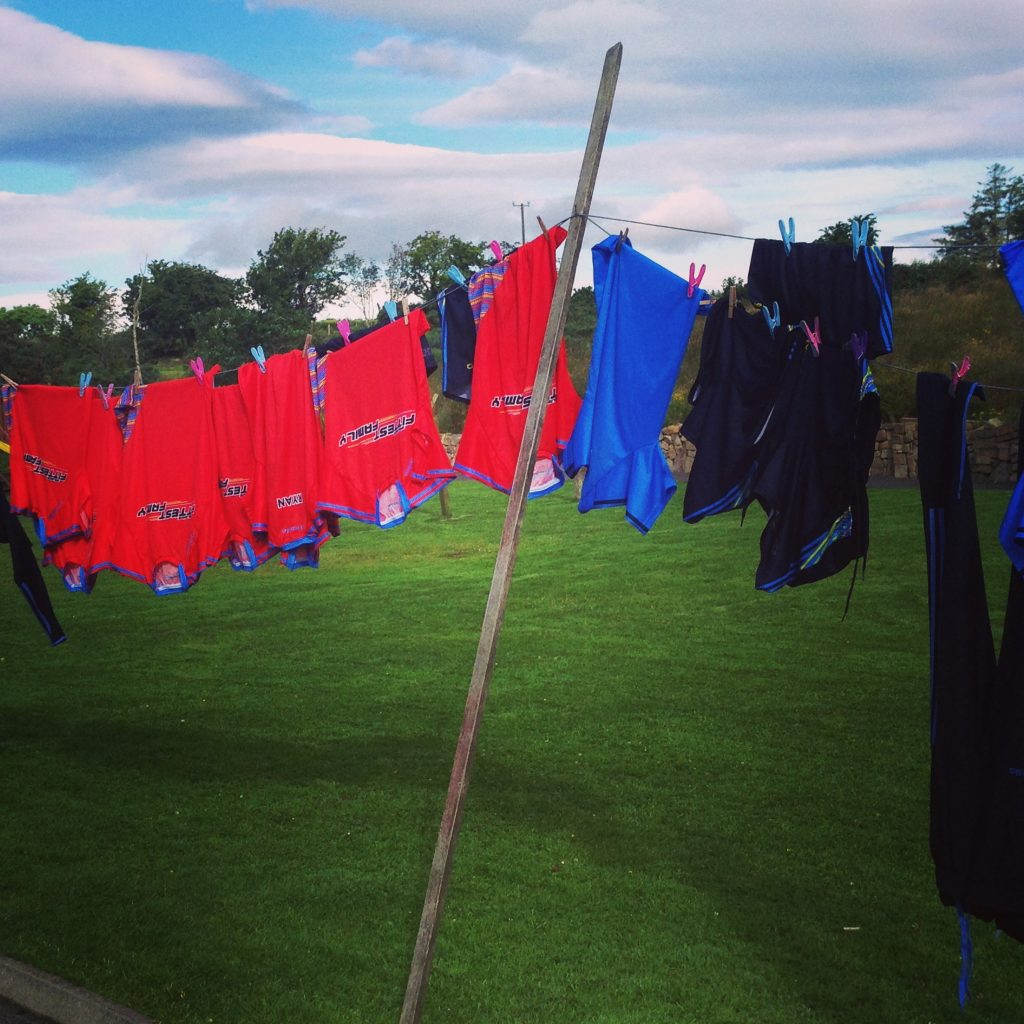 The Ryans' washing line