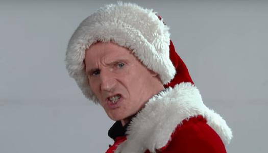 Video: This is why Liam Neeson will never play Santa Claus