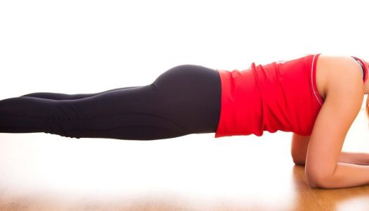 The proper way to plank