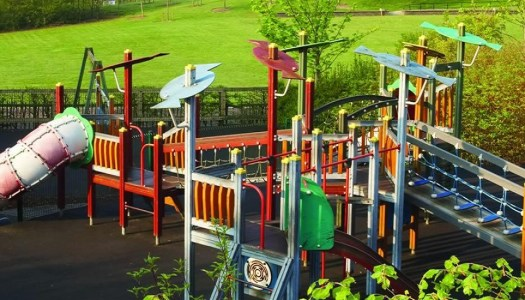 Parents horrified after park slides soiled by vandals