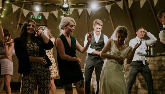 Wedding dancing like a pro!