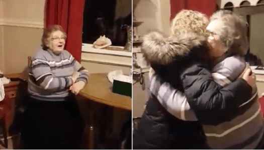 Video: Mammy surprised when daughter flies home for belated Christmas visit