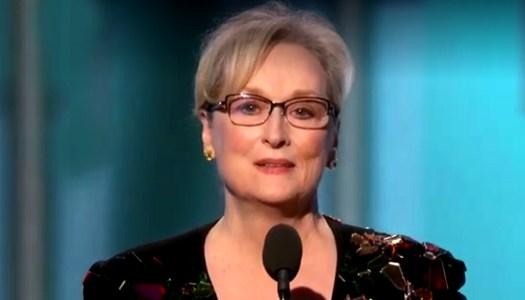 Why Meryl Streep's Golden Globes speech mattered