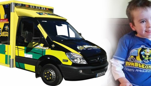BUMBLEance day for 'Brave little sunshine' Órán