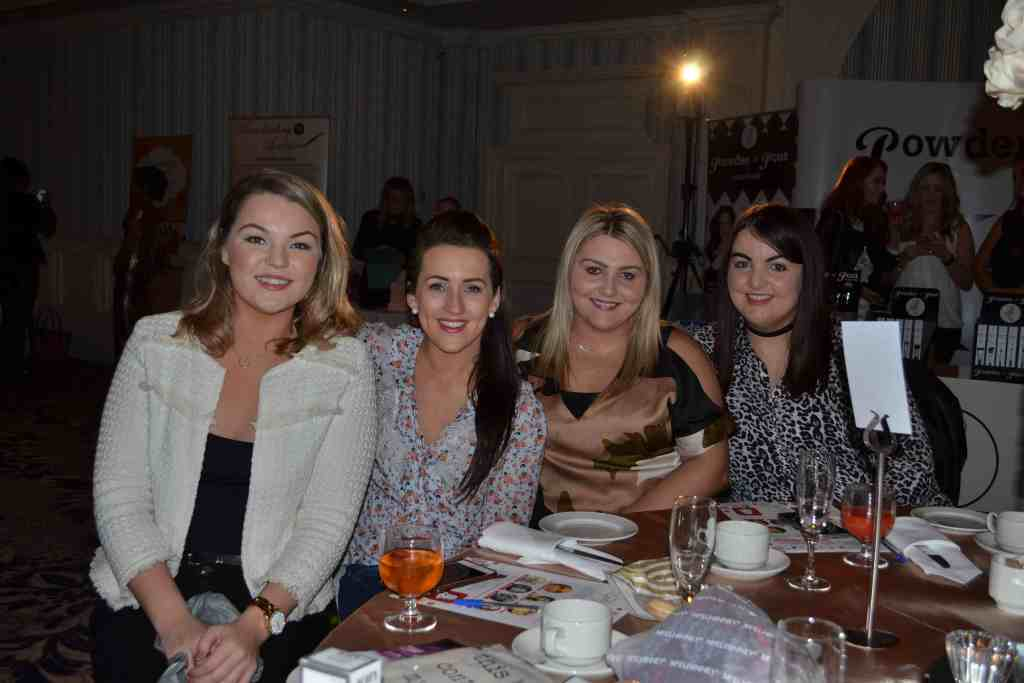 Leona Gallen, Eimear Lafferty, Mary Hegarty and Sarah Quigg