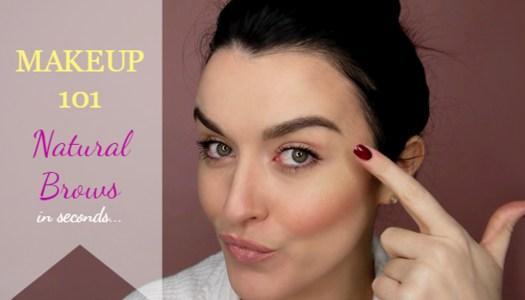 Makeup 101 | Natural Brows