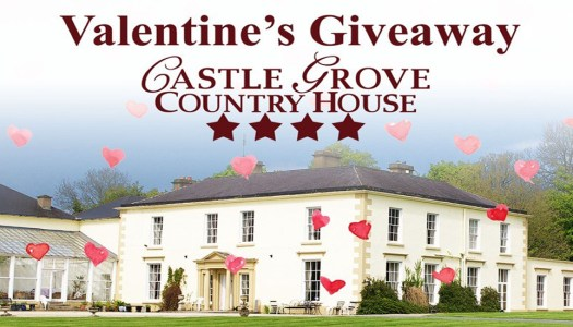 WIN a romantic Valentine's meal at Castle Grove Country House