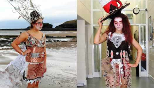 Magh Ene College students craft incredible outfits for Junk Kouture