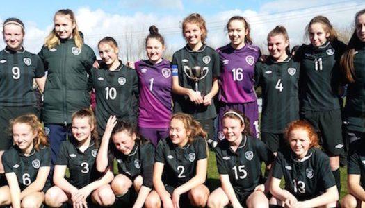 Neve Scanlon plays as Irish Schools defeat England to win John Read Cup