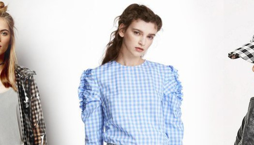 Gone giddy for gingham!