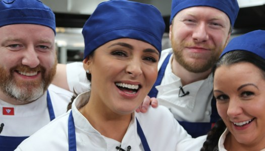 Grainne Seoige gets vital support from Donegal chef Gary
