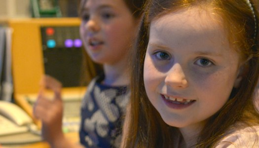 Watch: Local girl Lucy shines in weather presenting debut