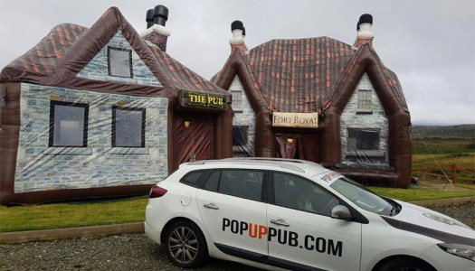 Pop Up Pub inventor Catriona has a lot to celebrate this St. Patrick's Day