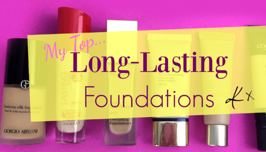 Makeup 101 | My top long-lasting foundations