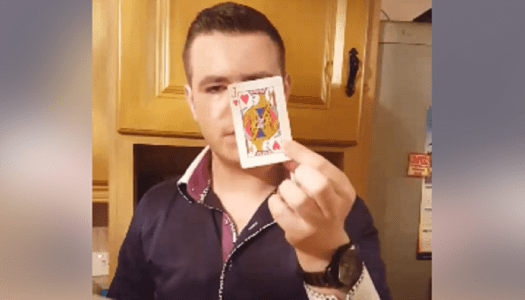 Watch: Young magician wows fans with astounding card trick