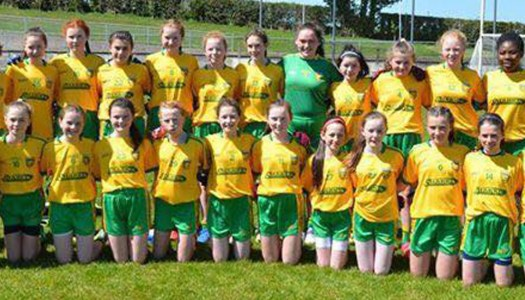 Dedicated U13 ladies face back-to-back battles this weekend