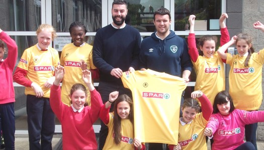Future soccer starlets are off to entertain at the Aviva