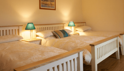 Which two Donegal B&Bs have been named on a list of Ireland's top B&Bs?
