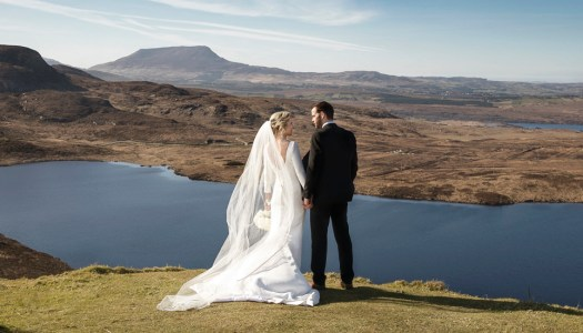 A bright and beautiful Donegal wedding