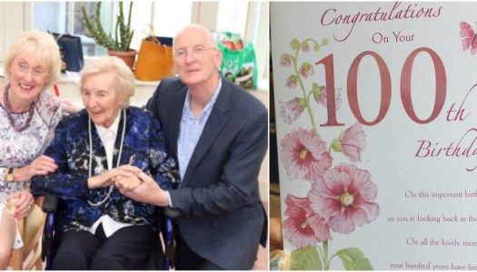 In Pictures: Kathleen McFadden's 100th birthday bash!