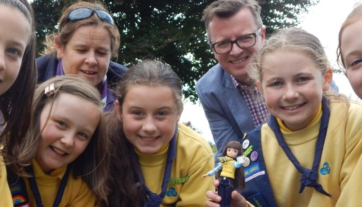 Little adventurers will love this new Lottie doll from Donegal