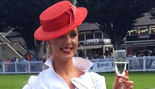 Falcarragh fashionista wins Best Dressed Lady at Dublin Horse Show