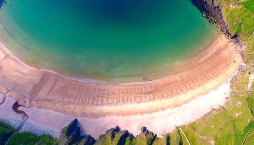 Can you believe this dazzling beach photo is from Donegal?