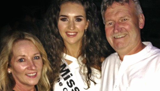 Miss Donegal celebrates pageant launch with proud parents
