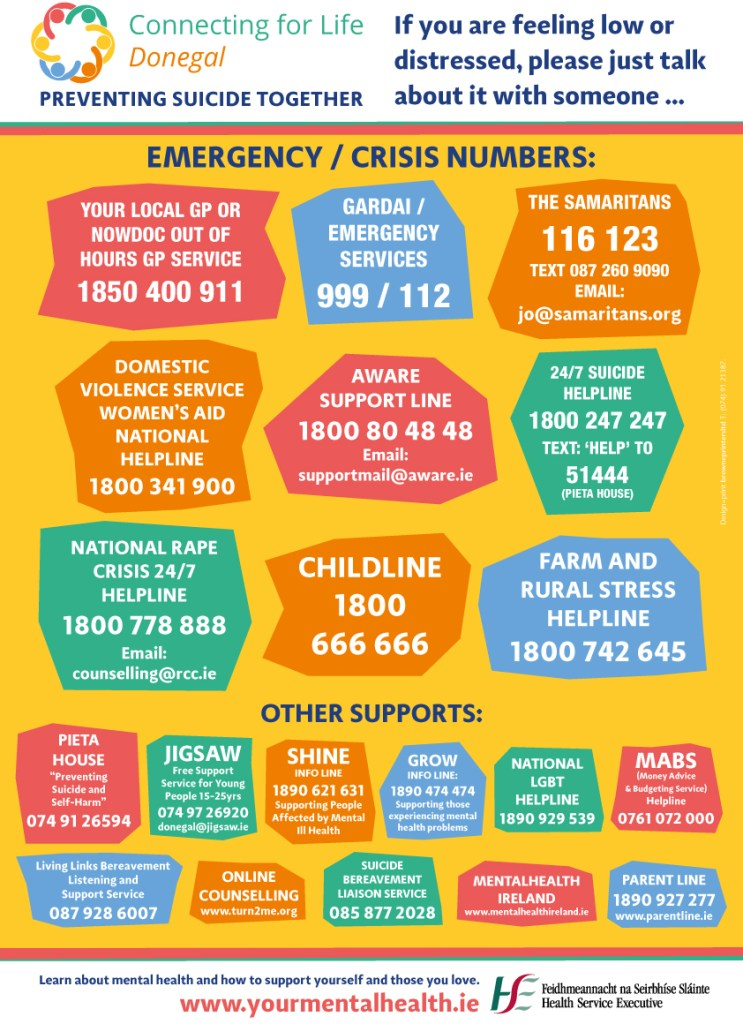 Image result for connecting for life donegal poster