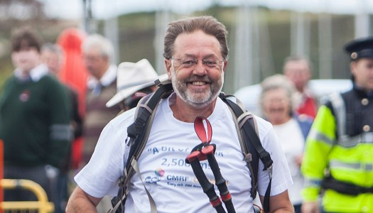 Remember the man who went on 'a bit of a walk'? He did all 2,500kms of it!