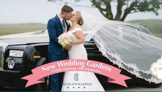 Gorgeous gardens to be unveiled at the Ballyliffin Lodge & Spa wedding show