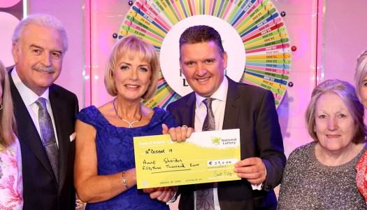 Remarkable Donegal woman spins the Winning Streak wheel