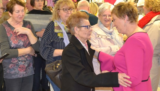 In Pictures: Majella meets fans and cancer survivors in McElhinneys