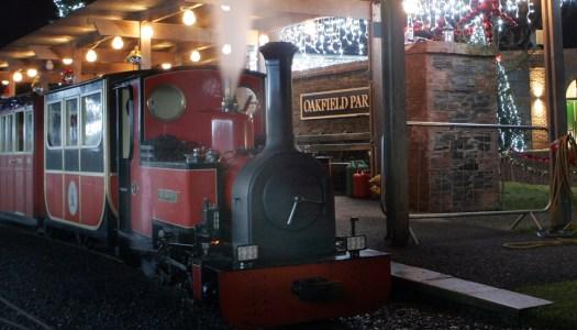 Choo Choo! The Santa Express is rolling back into Oakfield Park