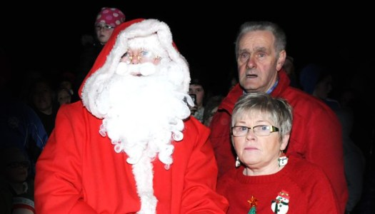 Mary and Michael plan a merry event for their Christmas lights switch-on