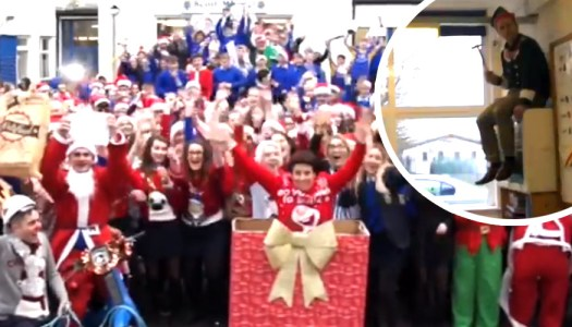 This Donegal school's Christmas party video is a must-watch marvel