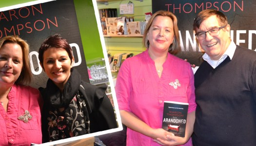 Events: Fans celebrate Sharon's success at debut book signing