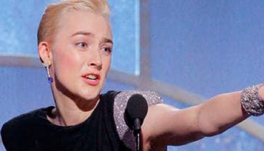 Saoirse Ronan honours all women in Golden Globes Best Actress speech