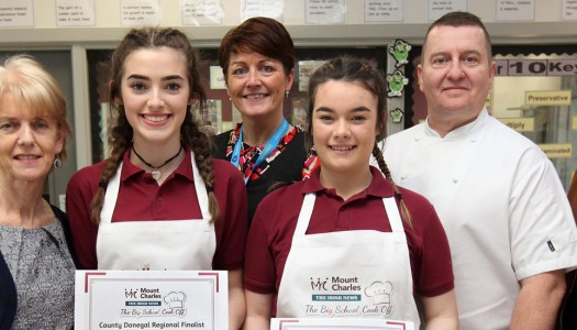 Culinary duo dish up a winner in the Big School Cook Off Donegal heat