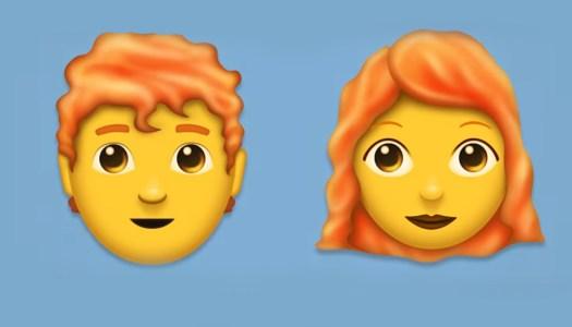 Redheads rejoice as they finally get an emoji