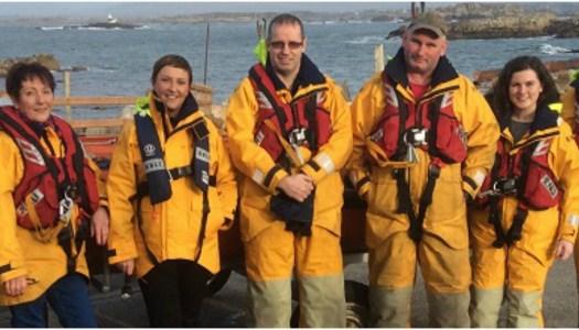 Majella stretches sea legs as new president of Arranmore RNLI